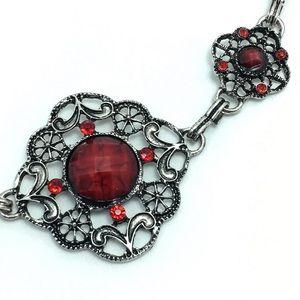 Jewelry - Red Vintage Style Bracelet